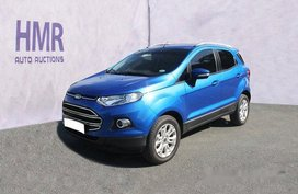 Sell Blue 2016 Ford Ecosport Automatic Gasoline at 29780 km in Muntinlupa