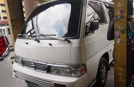 Selling White Nissan Urvan 2010 Van in Manila