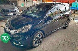 Black Honda Mobilio 2016 at 16000 km for sale