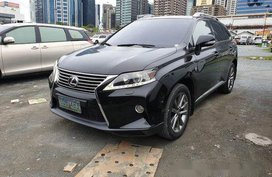 Selling Black Lexus Rx 350 2013 at 80000 km in Pasig