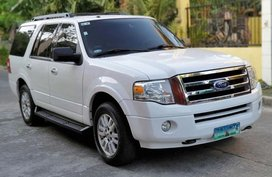 Selling White Ford Expedition 2011 Automatic Gasoline