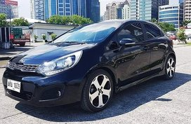 Selling 2015 Kia Rio Hatchback for sale in Quezon City