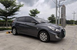 Selling Black Hyundai Accent 2013 Manual Gasoline in Manila