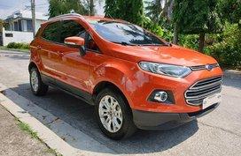 Orange Ford Ecosport 2017 Automatic Gasoline for sale in Manila