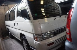 Black Nissan Urvan 2015 Van for sale in Manila