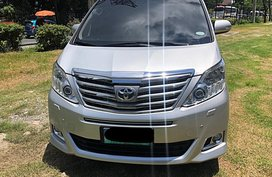 Silver Toyota Alphard 2012 for sale in Manila