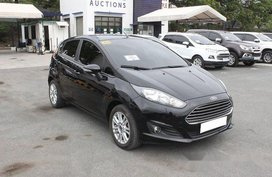 Sell Black 2017 Ford Fiesta in Muntinlupa