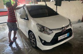 Sell White 2019 Toyota Wigo in Quezon City