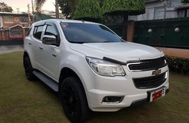 Sell White 2014 Chevrolet Trailblazer in Floridablanca