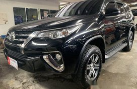 Selling Black Toyota Fortuner 2018 in Quezon City