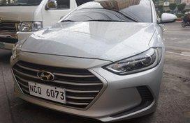Sell Silver 2017 Hyundai Elantra Sedan in Manila