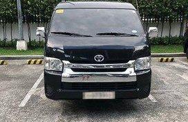 Selling Black Toyota Hiace 2018 Automatic Diesel