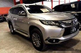 Silver Mitsubishi Montero Sport 2016 at 30000 km for sale