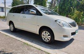 White Toyota Innova 2012 Automatic Diesel for sale in Manila