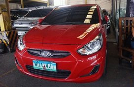Sell Red 2014 Hyundai Accent Hatchback in Manila