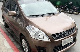 Sell Brown 2015 Suzuki Ertiga at 29965 km in Pasig