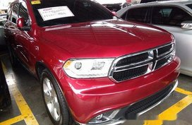 Red Dodge Durango 2018 for sale in Pasig