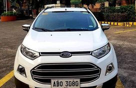 White Ford Ecosport 2017 for sale in Manila
