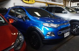 Selling Blue Ford Ecosport 2017 in Manila