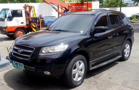 Selling Black Hyundai Santa Fe 2008 Automatic Diesel in Cavite City