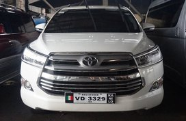 Sell White 2016 Toyota Innova in Manila