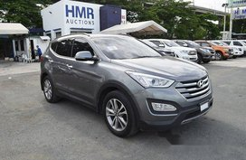 Sell Grey 2017 Hyundai Santa Fe at 45699 km in Muntinlupa
