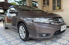 Sell Brown 2012 Honda City Sedan in Manila