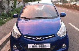 Blue Hyundai Eon 2015 for sale in Valenzuela