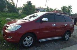 Red 2006 Toyota Innova for sale in Cebu