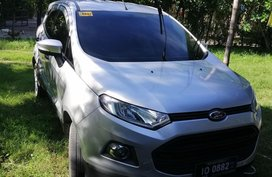Selling Silver Ford Ecosport 2017 Manual Gasoline in Olongapo