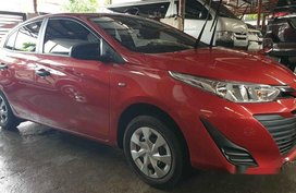 Red Toyota Vios 2018 for sale in Quezon City