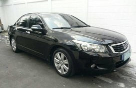 Black 2010 Honda Accord at 81000 km for sale in Quezon City
