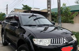 Sell Black 2012 Mitsubishi Montero Sport at 70000 km
