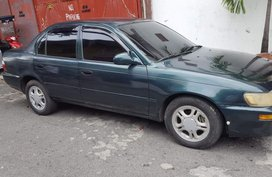 Green Toyota Corolla 1996 Sedan Manual for sale