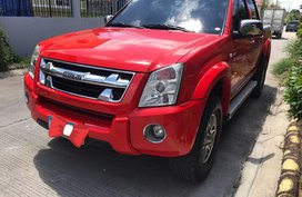 Red Isuzu Dmax 2012 Truck Automatic Diesel for sale
