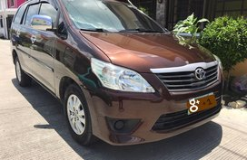 Brown Toyota Innova 2014 for sale in Santa Rosa
