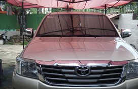 Sell Used 2012 Toyota Hilux at 70000 km in Bacolod