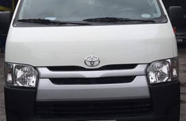 Selling Used Toyota Hiace 2016 Manual Diesel in Quezon City