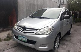 Sell Silver 2010 Toyota Innova in Parañaque
