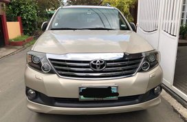 2012 Toyota Fortuner Automatic Gasoline for sale