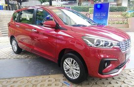 Red Suzuki Ertiga for sale in Quezon City