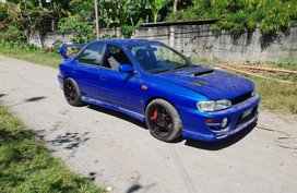 Blue 1998 Subaru Impreza for sale in Manila