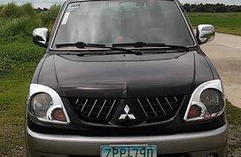 Selling Black Mitsubishi Adventure 2008 Manual Diesel