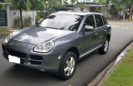 Grey Porsche Cayenne 2006 at 53621 km for sale in Makati
