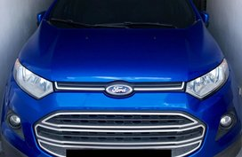Sell Blue 2015 Ford Ecosport at 33000 km in Cavite