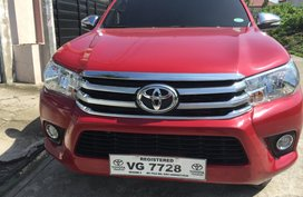 Selling 2nd Hand Toyota Hilux 2016 Automatic Diesel
