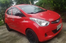 Red Hyundai Eon 2015 for sale in Quezon City