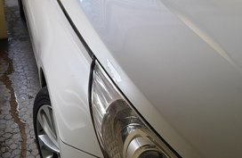 White Hyundai Sonata 2013 Sedan Automatic Gasoline for sale in Pasig