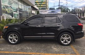 Sell Black 2016 Ford Explorer in Manila