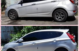 Selling Hyundai Accent 2014 Hatchback in Parañaque
